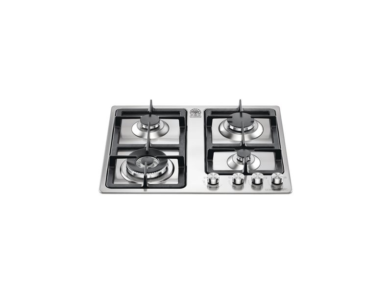 60 4-Burners Frontal Control 5 kW Wok Burner | Bertazzoni La Germania - Stainless